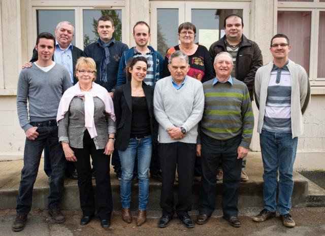 Le conseil municipal de Saint Germier