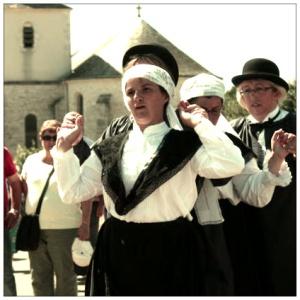La noce villageoise de Saint Germier est une fête traditionnelle costumée