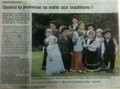 20140815-Courrier-Quand la jeunesse se mêle aux traditions