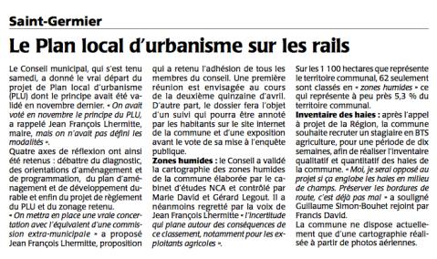 20150324-Courrier-Le PLU de Saint Germier sur les rails