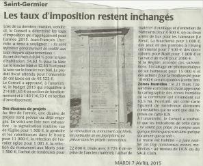 20150407-Courrier-Taux d imposition inchangés