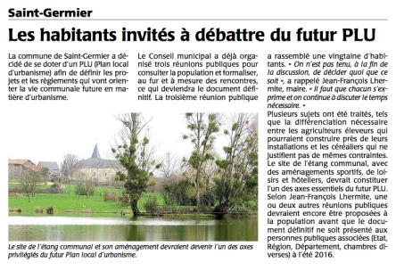 20151201-Courrier-Les habitants invites a debattre du futur PLU