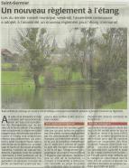20160211-Courrier-Un Nouveau Règlement à l'étang