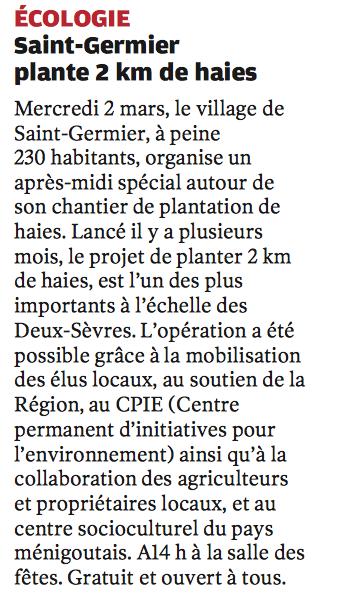 20160229-NR-Ecologie St Germier plante 2km de haies