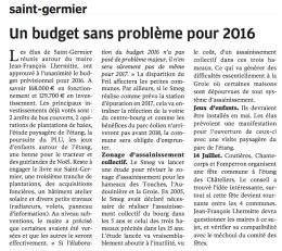 20160420-NR-Un budget sans problème pour 2016