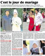 20160816-Courrier-Cest le jour de mariage