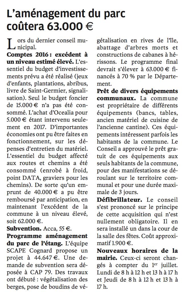 20170707-NR-Lamenagement du parc coutera 63000 euros