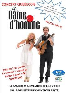concert québécois 2014