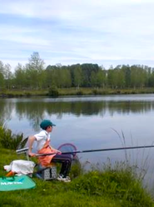 Pêche étang SaintGermier79