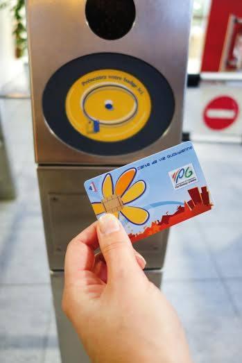 CCPG-La Carte de Vie Quotidienne doit simplifier le quotidien des usagers © Photo DR