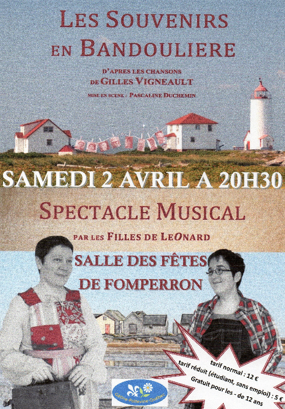 Concert Gâtine Poitevine Québec 2016