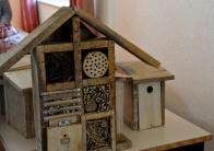 St Germier (79340)-2 mars 2016-Atelier nichoirs à oiseaux et hotels à insectes avec le CPIE Gâtine Poitevine, les enfants du village et du CSC © Louise Baheux