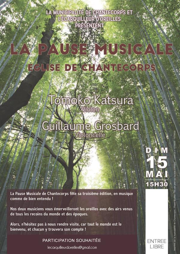 La Pause Musicale Chantecorps 15 Mai