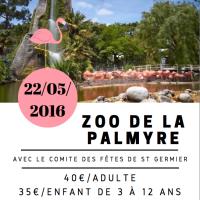 Visite du Zoo de la Palmyre avec le Comité des fêtes