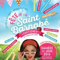 Coutières fête la Saint Barnabé en course et en couleurs !