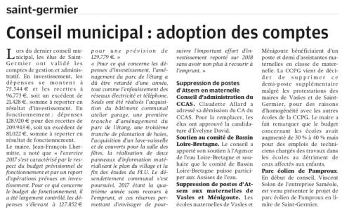 20180627-NR-CM Adoption des comptes