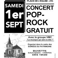 J-7 avant notre concert Pop-Rock gratuit !