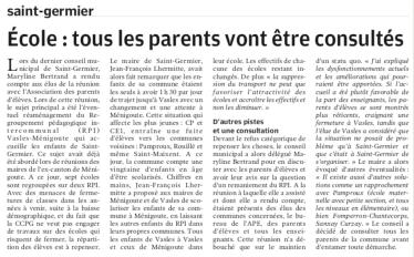 20190125-Ecole tous les parents vont être consultés