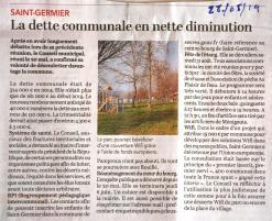 20190528-CO-La dette communale en nette diminution