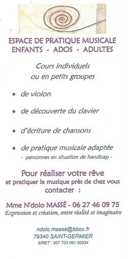 Atelier Musical Ndolo Masse